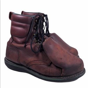 Hytest Clincher III Steel Toe Welding Iron Boots